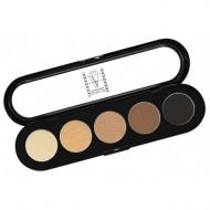 Отзывы Палетка теней, 5 цветов Make-up Atelier Paris T03s натуральные коричневые тона